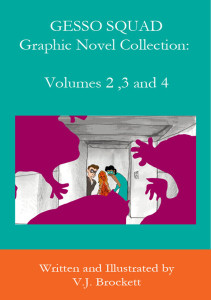 Graphic Novels Volumes 2 thru 4
